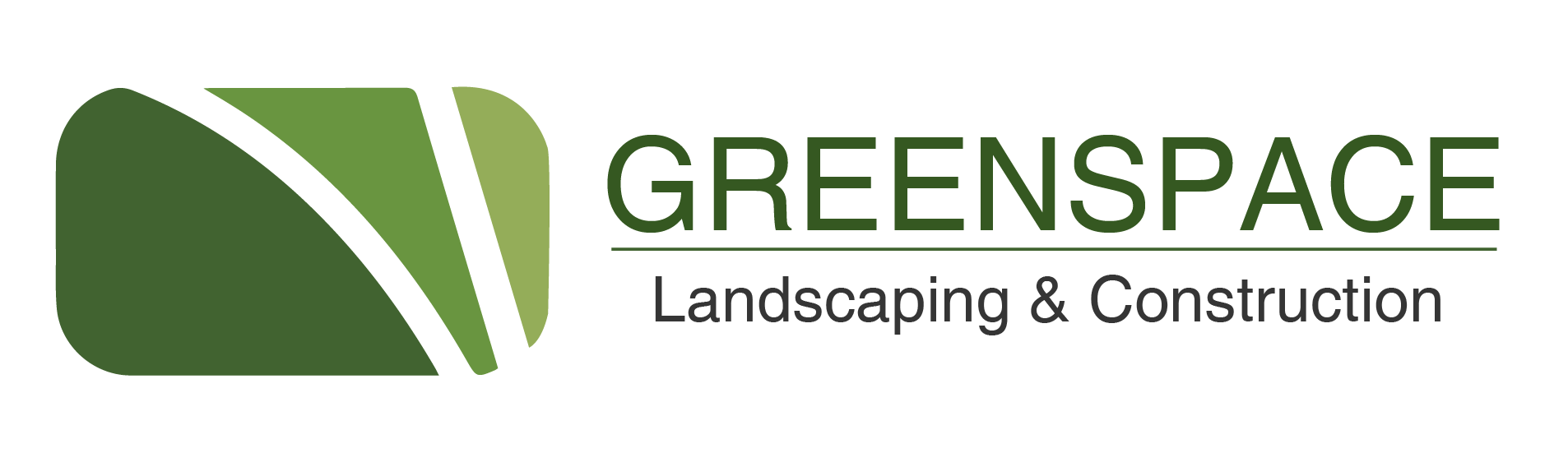 Greenspace Landscaping & Construction Logo